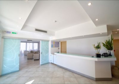 Arredamento Reception Moderna